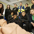 Dummy Steers Pupils Away From Knife Crime