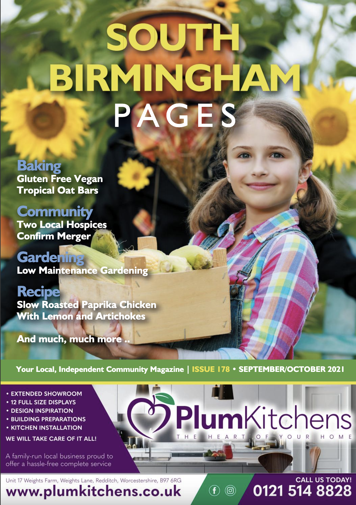 South Birmingham Pages Magazine September 2021