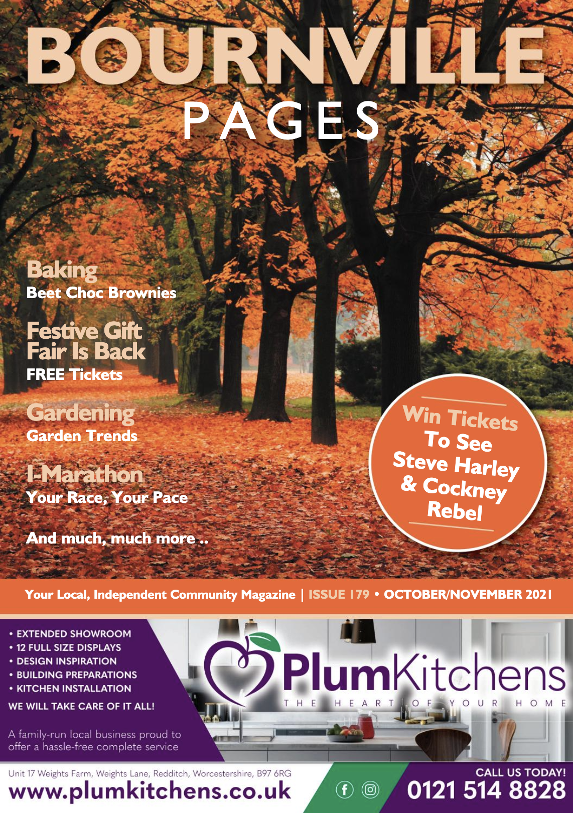 Bourneville Pages Magazine October 2021