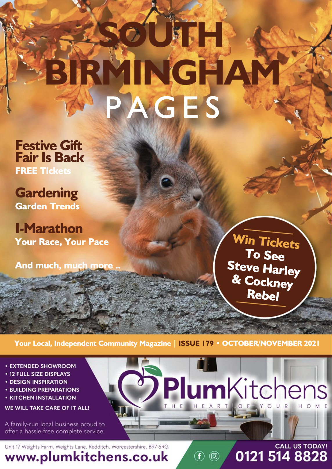 South Birmingham Pages Magazine October 2021